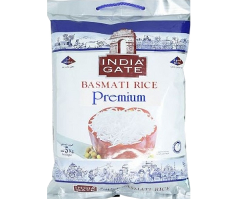 India Gate Basmati Rice Premium 5Kg