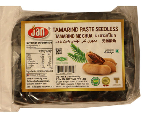 Jan Tamarind Paste Seedless 400g