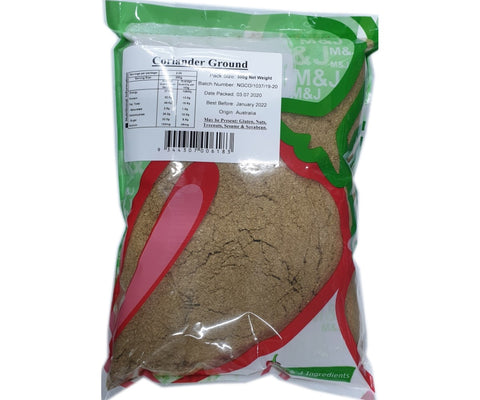 M&J Coriander Powder 500g
