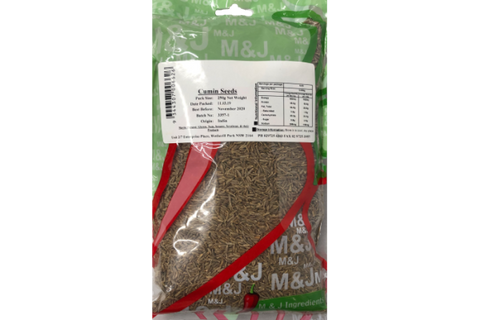 M&J Cumin Seeds (Whole) 250g