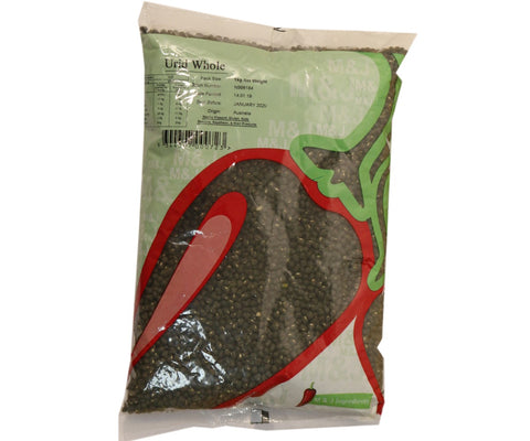 M&J Urid (Mashkalai) Dal Whole 1kg