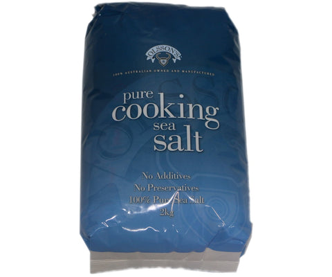 Olsson's Pure Cooking Sea Salt 2Kg