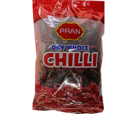 Pran Dry Whole Chilli 100g