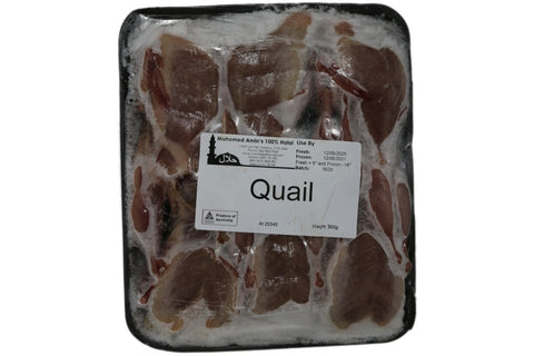 Quail (Pack Of 6)