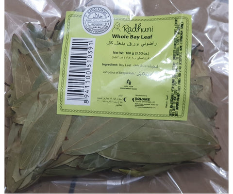 Radhuni Bay Leaves 100g