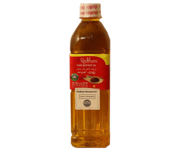 Radhuni  Mustard Oil 500ml (approx. 0.50L)
