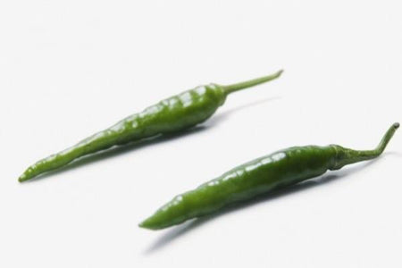 Hot Green Chilli 100g
