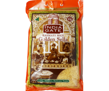 India Gate Basmati Rice Golden Sella 5kg