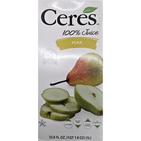 Ceres Fruit Juice, Pear