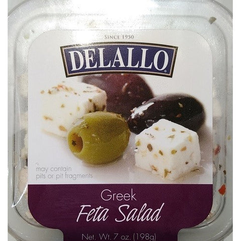 Feta Cheese, Greek Salad, De Lallo