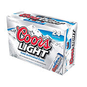 Coors Light, cans