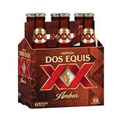 Dos Equis XX Amber, bottles