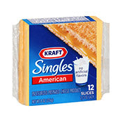 Cheese Slices, American Singles, Kraft