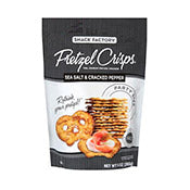 Pretzel Crisps, All Natural, Salt & Cracked Pepper