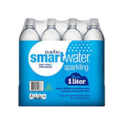 Smart Water Sparkling, 1 ltr bottles