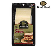 Cheese Slices, Imported Swiss, Boar's Head
