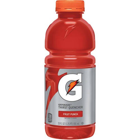 Gatorade, Red, 20 oz bottles