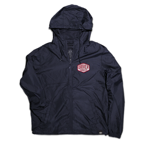 Hex Zip Hooded Windbreaker