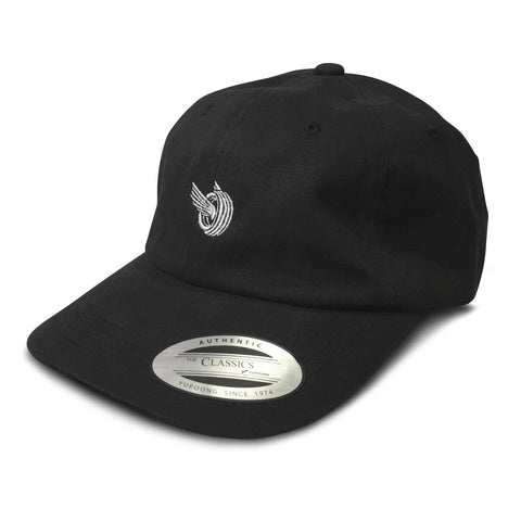 (15) Flying Tire Dad Hat Black