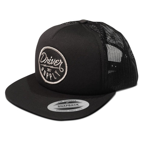 (21) Bolt Foam Trucker Snapback Black