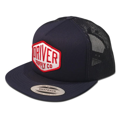 (22) Hex Foam Trucker Snapback Navy Blue