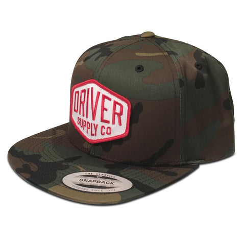 (19) Hex Snapback Forest Camo