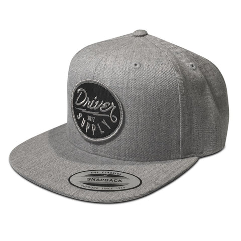 (18) Bolt Snapback Heather Grey
