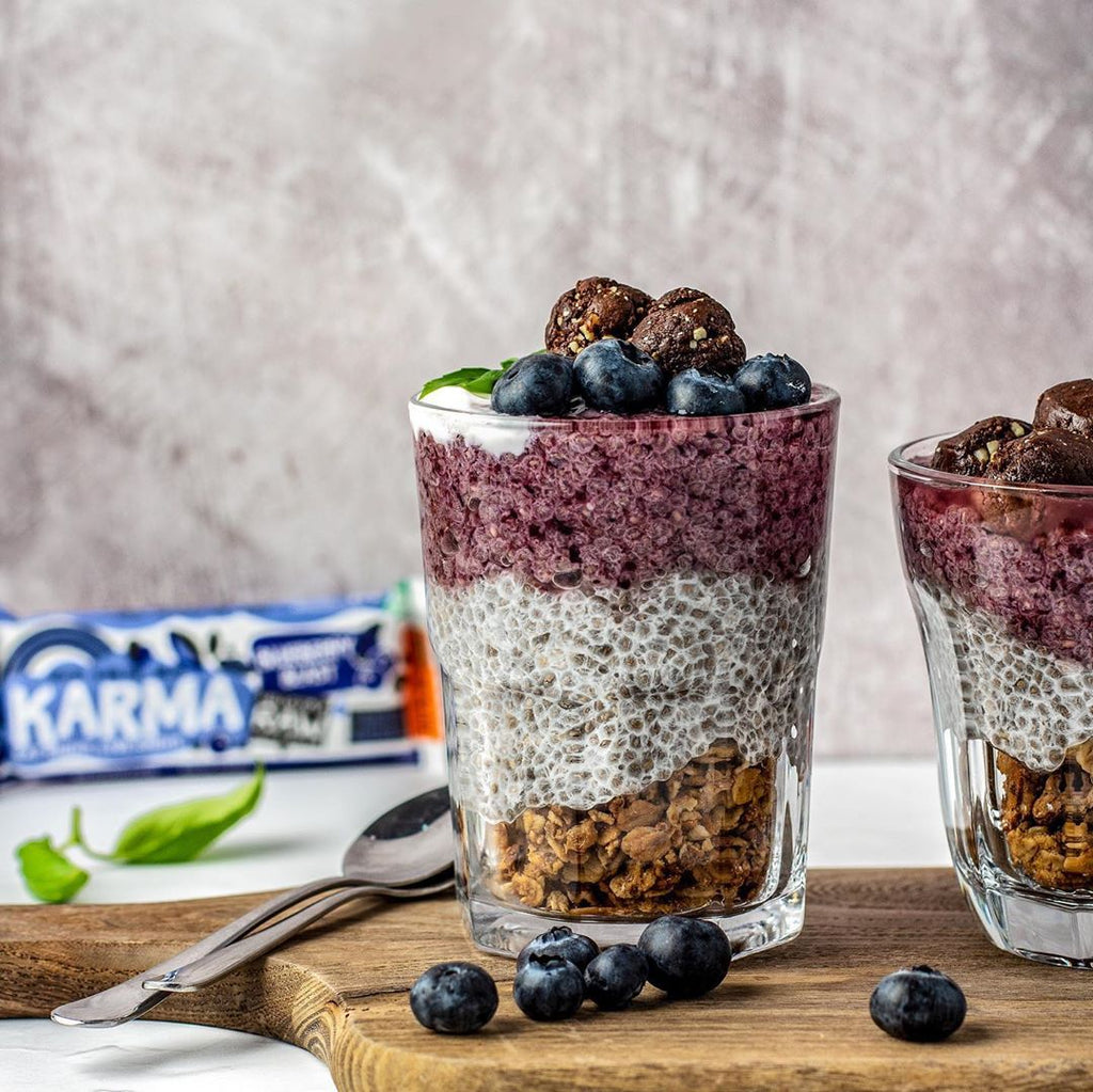 Blueberry Blast Chia Pudding