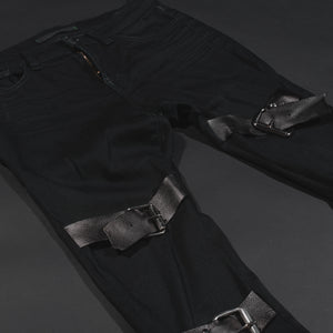 Black Buckle Jeans