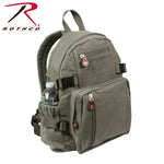 Vintage Canvas Mini Backpack