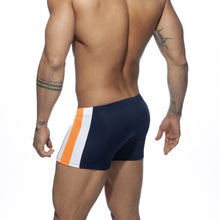 Load image into Gallery viewer, Stripes Basic Swim Boxer