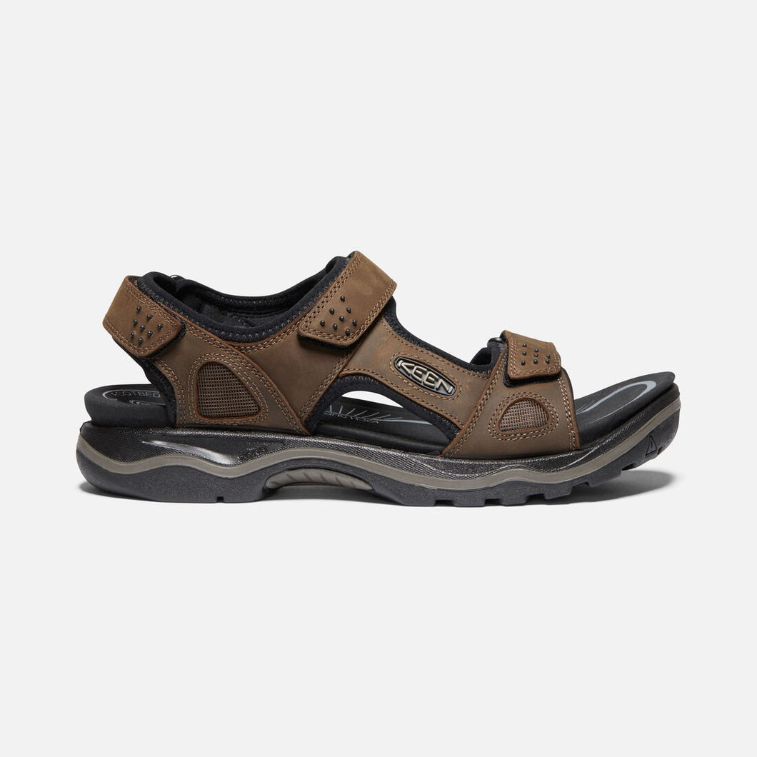 Keen Men's Rialto II 3-point Leather Sandal - Removable Insole
