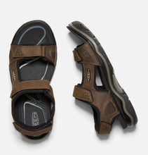 Load image into Gallery viewer, Keen Men's Rialto II 3-point Leather Sandal - Removable Insole