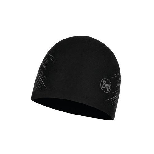 Buff Microfibre Hat - Solid Black