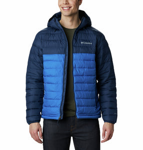 Columbia Men's Powder Lite Omni Heat Hooded Insulated Jacket
