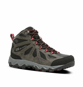 Columbia Women's Lincoln Pass Mid Leather Outdry Waterproof Trail Boots