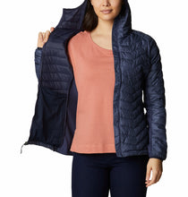 Load image into Gallery viewer, Columbia Women's Powder Pass Hybrid Hooded Jacket