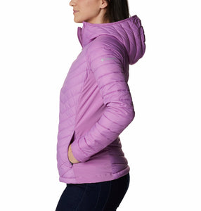 Columbia Women's Powder Pass Hybrid Hooded Jacket