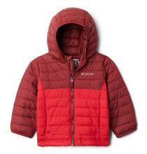 Load image into Gallery viewer, Columbia Kids Powder Lite Omni Heat Hooded Puffer Jacket