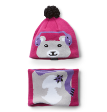 Load image into Gallery viewer, Columbia Youth Snow More Hat and Gaiter Set