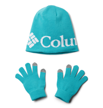 Load image into Gallery viewer, Columbia Youth Hat and Glove Set II