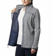 Load image into Gallery viewer, Columbia Women's Firwood Camp Striped Fleece Jacket