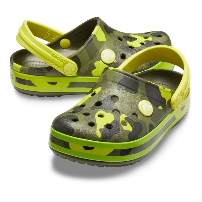 Crocs Kids Crocband™ MultiGraphic Clogs