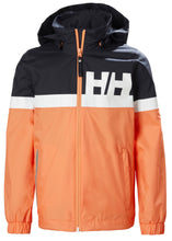 Load image into Gallery viewer, Helly Hansen Junior Active Waterproof  Rain Jacket