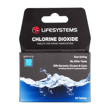 Load image into Gallery viewer, Lifesystems Chlorine Dioxide Water Purification Tablets (30)