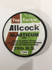 Allcock Alasticum 29lbs Single Strand Wire