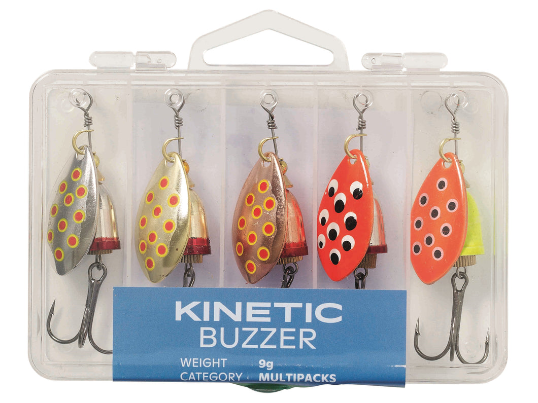 Kinetic Buzzer 9g (5Pack) Lures