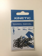 Load image into Gallery viewer, Kinetic Barrell Swivel Size 4