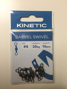 Kinetic Barrell Swivel Size 8