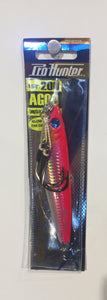 Pro Hunter Agoo 200g Glow In The Dark Lure Silver Red With Hook